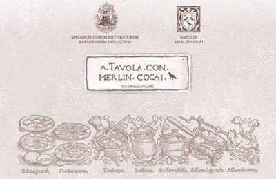 A tavola con Merlin Cocai